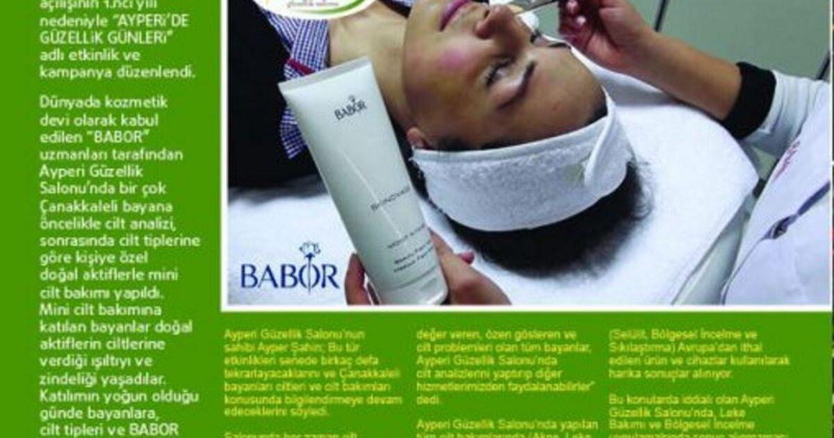 Çanakkale Aktuel Dergisinin Kasım 2011 tarihli haberi