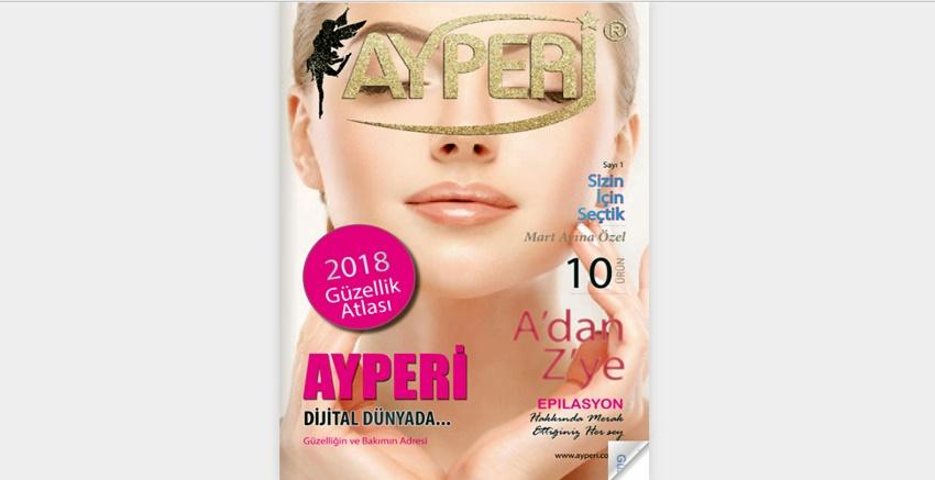 Ayperi dergisi dijital dünyada!