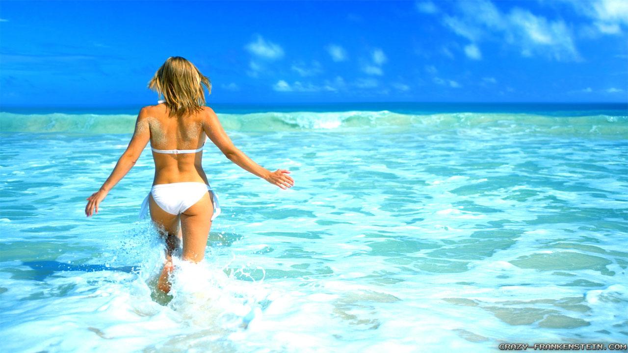 Deniz Suyu Cilde İyi Geliyor…